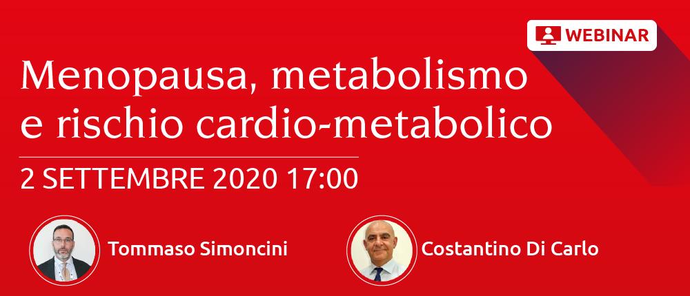 Menopausa, metabolismo e rischio cardio-metabolico